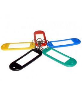 E41637 Брелок-идентификатор пластиковый для ключей (5 цветов)