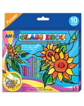 330080 Набор д/детского творчества Amos Glass Deco