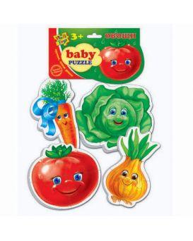 Беби пазлы Овощи VT1106-03