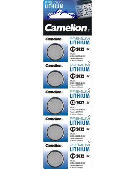 Батарейка Camelion CR 2032/ 5 BL
