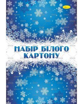 Набор белого картона А4,7арк.,235гр/м2 КБ-А4-7 ТМ Апельсин