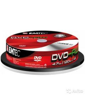 Диск DVD-RW EMTEC (10)