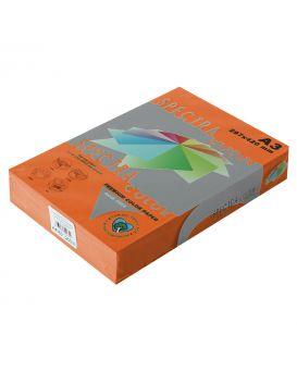 Бумага цветн. А3/160 (250арк.) инт. Saffron 240 (оранжевый) SPECTRA COLOR