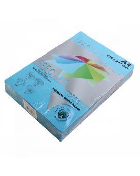 Бумага цветн. А4/75 (500арк.) паст. Blue 180 (голубой) SPECTRA COLOR