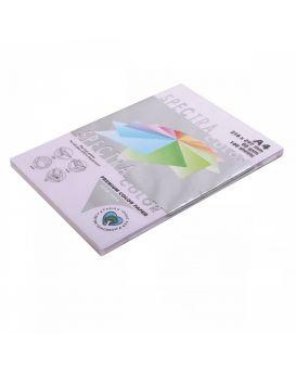 Бумага цветн. А4 80 г/м (100 арк.) паст. SPECTRA COLOR Lavender 185 (лиловый)