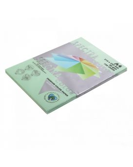 Бумага цветн. А4 80 г/м (100 арк.) паст. SPECTRA COLOR 190 Green (зеленый)