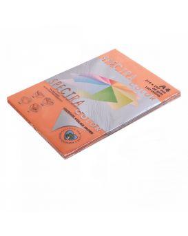 Бумага цветн. А4 80 г/м (100 арк.) инт. SPECTRA COLOR 240 Saffron (оранжевый)