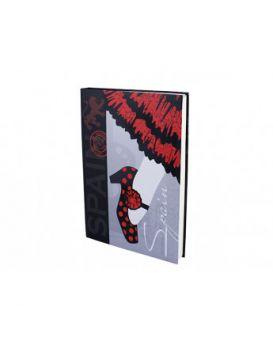 Тетрадь А4 192 листов,тв.переплет, выборочный УФ-лак,серия