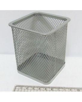DSCN3545_S Подставка д/ручек-металл. 8*8*9,5 см