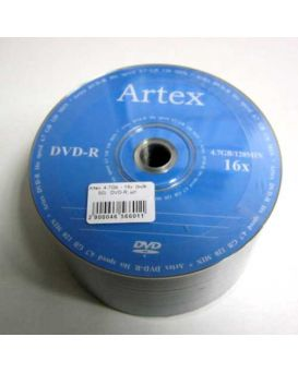 Диск DVD-R Artex (50)