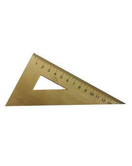 Треугольник деревянный 15 см, 30х60