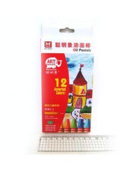 OP12 Мелки масляные 12цв*0,8 мм
