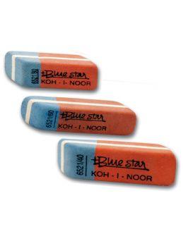 Резинка комбинированная BluStar,6521/80 Koh-i-Noor(84 шт)