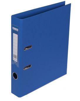 Регистратор ELITE двост. А4, 50мм, PP, синий, сборный