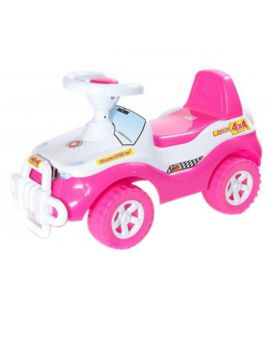 Машинка для катания ДЖИПІК розовый