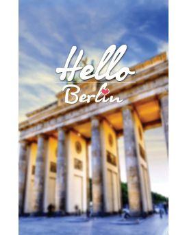 Тетрадь А4 / 144 пл.обл. Hello Berlin YES