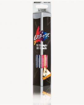 9001EM-12CB Карандаши графит.12шт.,НВ с ластиком,Grip-Rite ТМ Marco