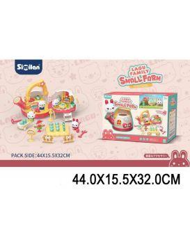 Игровой набор «Мини ферма» в коробке 44х15,5х32 см