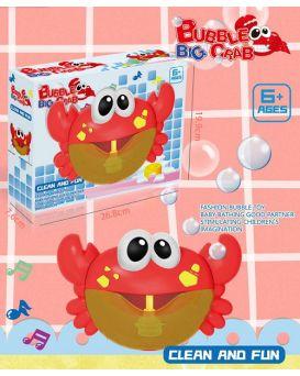 Игрушка для купания, система мыльных пузырьков, в коробке 25х8х16 см