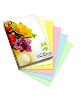 Бумага цветная А4 100 листов, 75 гр/м2, неон, 5х20, SPECTRA COLOR-Rainbow Pack Cyber, IT 82