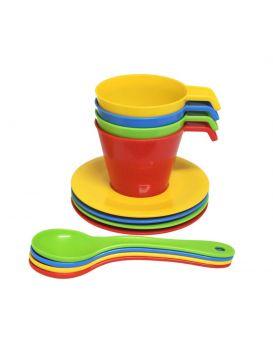 Набор посуды «Кофейный Релакс» 12 элементов, ТМ Tigres