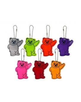 Брелок светоотражатель «Bear» в ассортименте