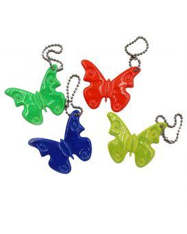 Брелок светоотражатель «Бабочка» в ассортименте