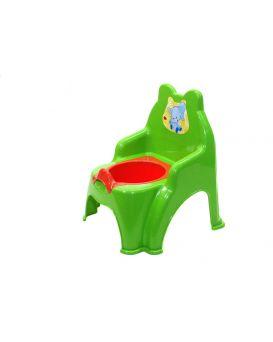 Горшок детский, зеленый №2