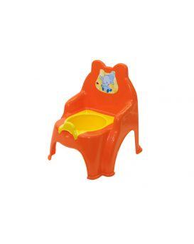 Горшок детский, оранжевый №2