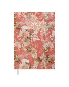 Ежедневник датированный 2022 год, А5 «BLOSSOM» персиковый