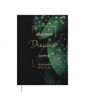 Ежедневник датированный 2022 год, А5 «magis» зеленый