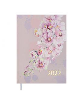 Ежедневник датированный 2022 год, А5 «FILLING» розовый