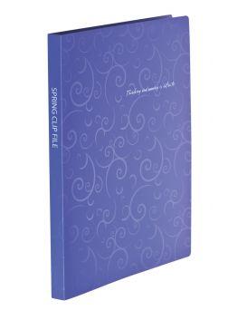 Папка - скоросшиватель А4 «BAROCCO» фиолетовая