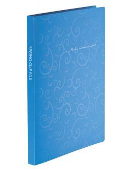 Папка - скоросшиватель А4 «BAROCCO» голубая