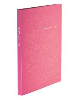 Папка - скоросшиватель А4 «BAROCCO» розовая