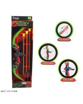 Арбалет и стрелы, в коробке 60х17,5х5 см