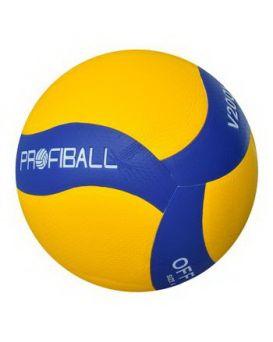 Мяч волейбольный, размер 5, 260х280 гр., ПУ, ламинированный, 8 панелей, в пакете