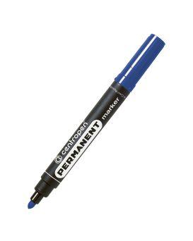 Маркер 2,5 мм перманентный, круглый, синий Centropen