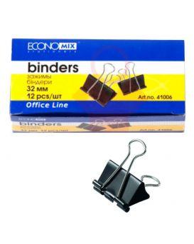Биндеры для бумаги 32 мм Economix, 12 шт.