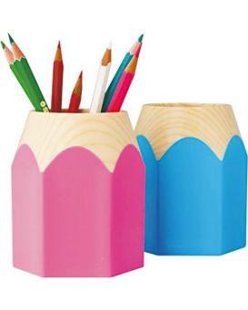 Подставка для ручек «Карандаш» пластиковая в ассортименте