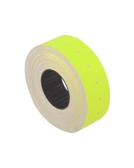 Этикетки - ценники, 12 х 21 мм, желтые.
