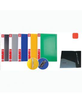 О31253 Папка-скоросшиватель пластиковая Clip A