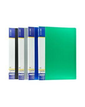 Папка пластиковая А4 с 10 файлами Economix,