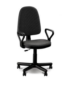 Кресло поворотное «Престиж» цвет - черный, Новый Стиль