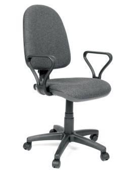 Кресло поворотное «Престиж» цвет - серый, Новый Стиль