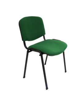 Стул на раме «ISO BLACK» цвет - зеленый, Новый Стиль