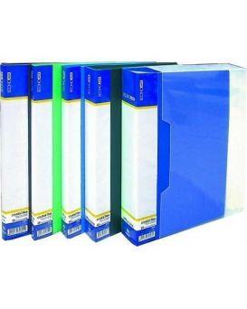 Папка пластиковая А4 с 30 файлами Economix, в ассортименте