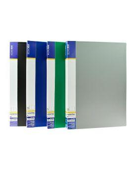 Папка пластиковая А4 с 40 файлами Economix, в ассортименте