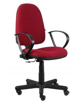 Кресло поворотное «Престиж» цвет - красный, Новый Стиль