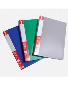 О30676 Папка пластиковая с 60 файлами